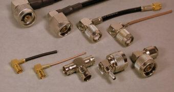 HF-Stecker für Hochfrequenztechnik