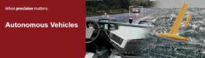 Autonomes Fahren mit Antennen von Tallysman