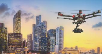 Neue HC977 Helical-Antenna von Tallysman für UAV