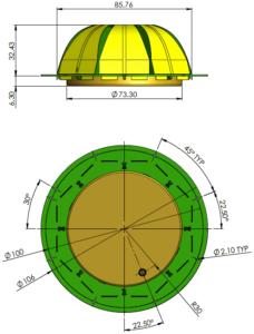 Embedded-Full-GNSS und Triple-Band-GNSS mit VeroStar-Antennen