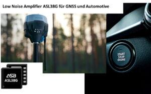 ASL38G GPS Low Noise Amplifier